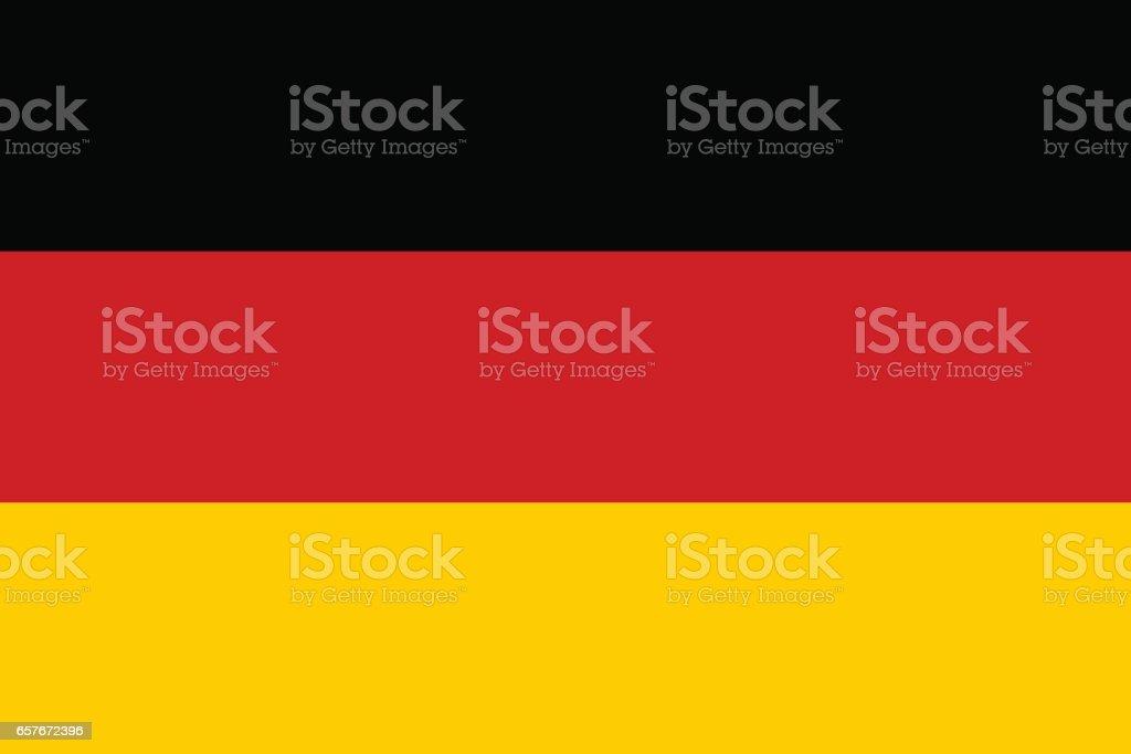 Pavilhão da Alemanha - ilustração de arte em vetor