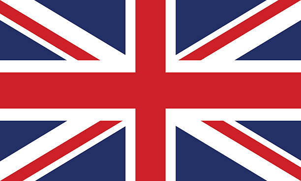 flag of great britain - union jack flag stock illustrations, clip art, cartoons, & icons