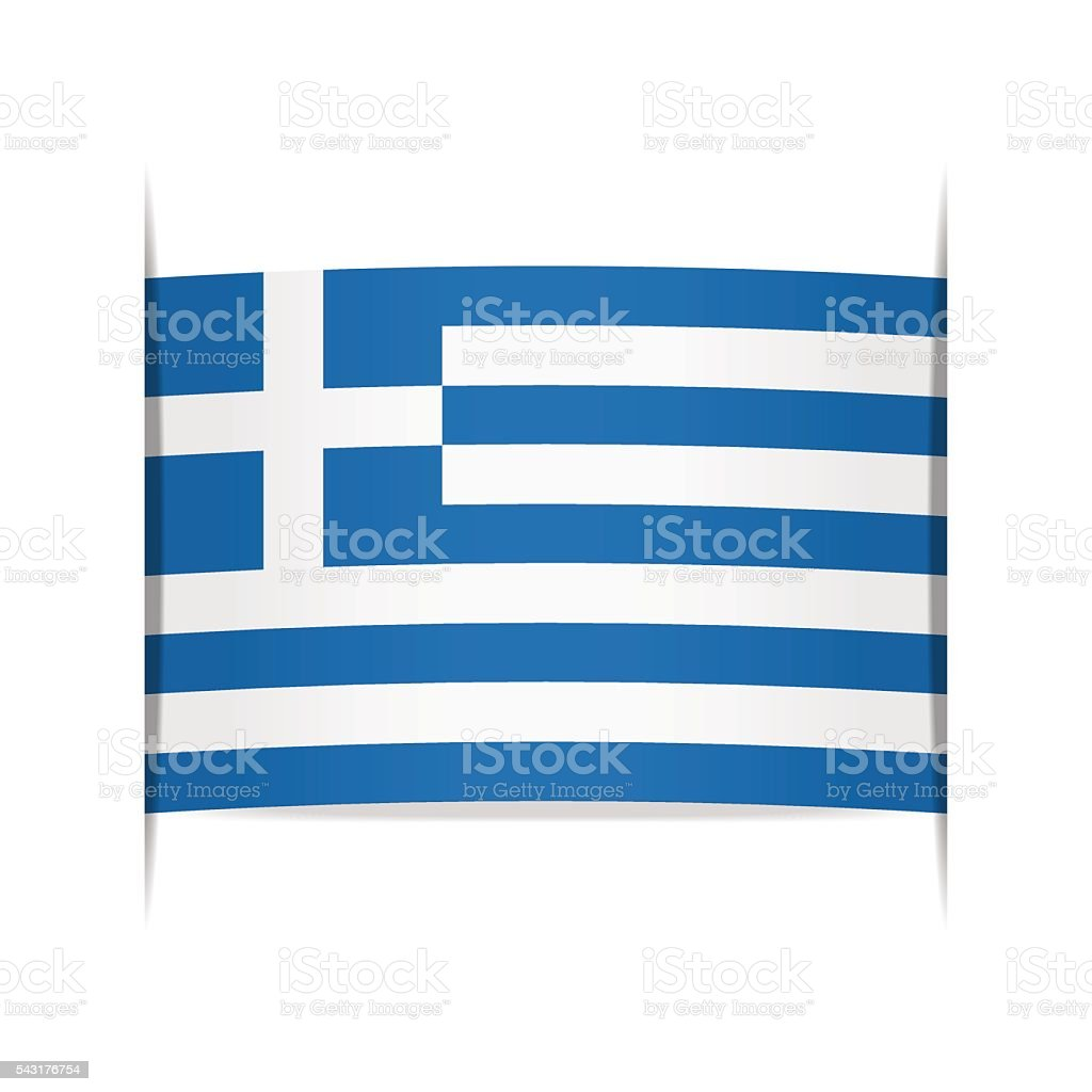 Flag Of Greece Stock Vector Art More Images Of Authority 543176754