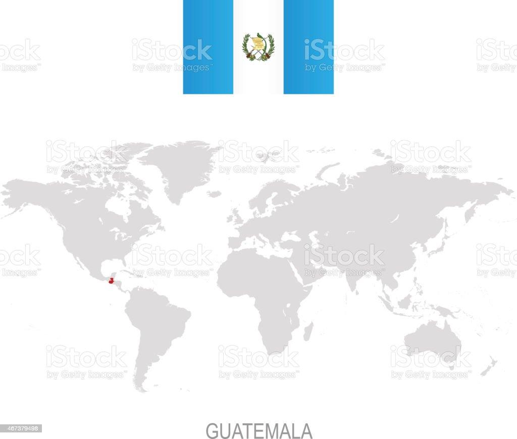 Royalty Free Guatemala Map Vector Guatemala Flag Vector Isolated