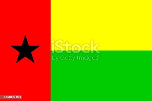 istock Flag of Guinea-Bissau 1063897194