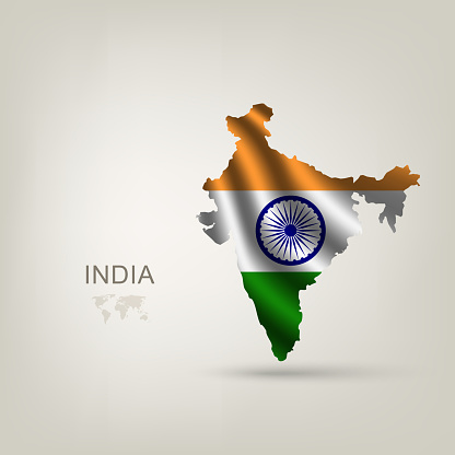 Flag of India as a country
