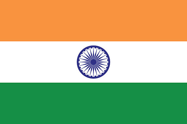 flag of india - indian stock illustrations, clip art, cartoons, & icons
