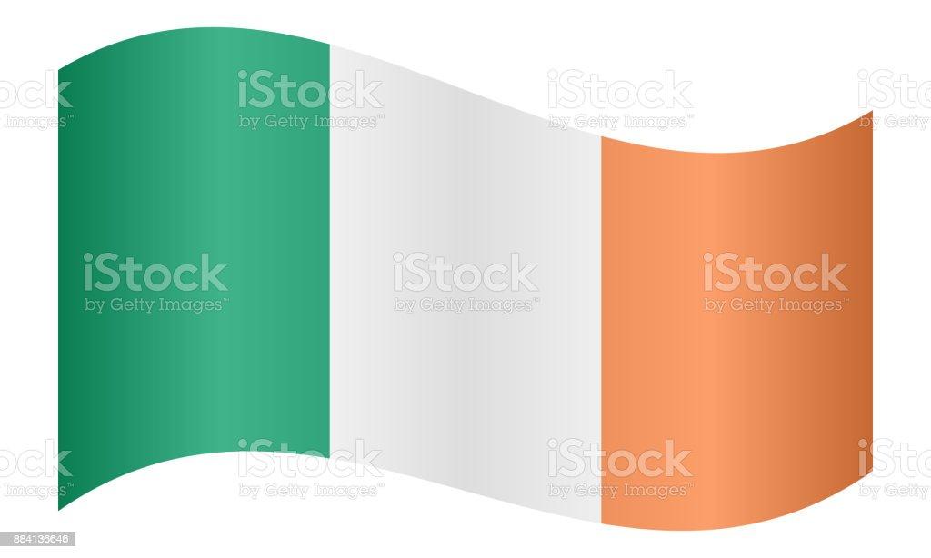 Bandera de España ondeando - ilustración de arte vectorial