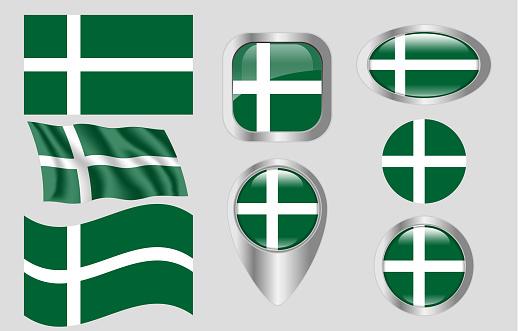 Flag of Isle of Barra, Scotland