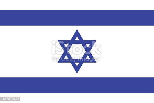 istock Flag of Israel 657672678
