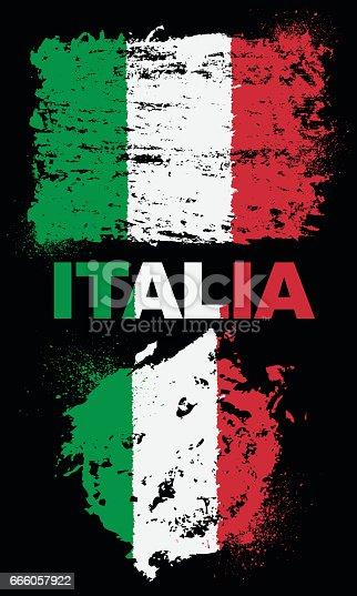 istock Flag of Italia 666057922