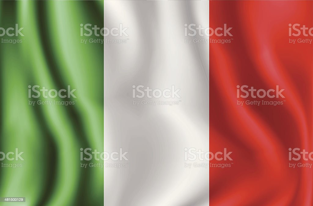 Flag Of Italy royalty-free stock vector art