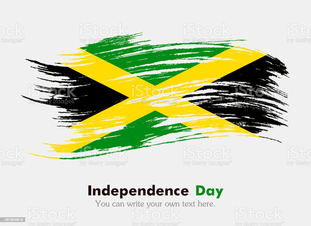 Flag Of Jamaica Stock Vector Art More Images Of 2015 481904818