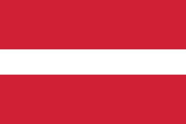 Flag of Latvia Flag of Latvia latvia stock illustrations