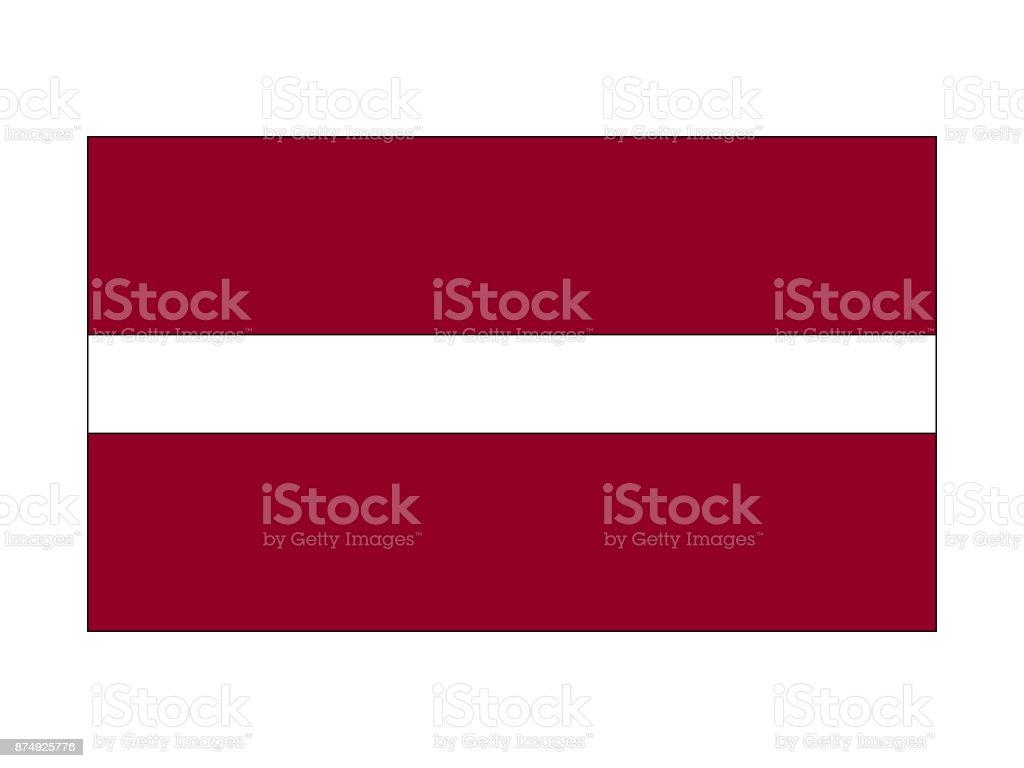ilustração de bandeira da letônia e mais banco de imagens de albânia