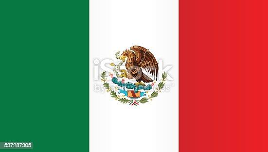 istock Flag of Mexico 537287305