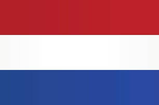 flagge der niederlande - niederlande stock-grafiken, -clipart, -cartoons und -symbole