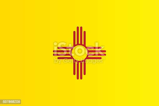 istock Flag of New Mexico 537868205