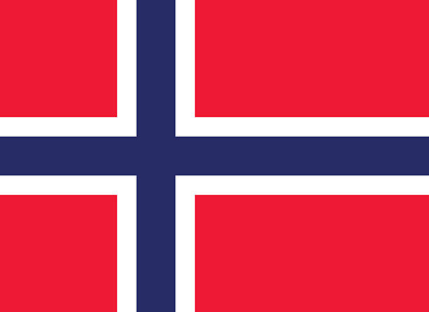 Flag of Norway Proportion 8:11, Flag of Norway norway stock illustrations