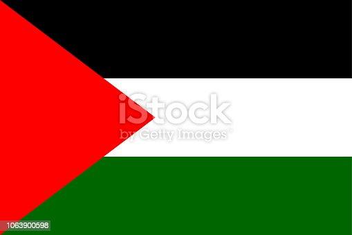 istock Flag of Palestine 1063900598
