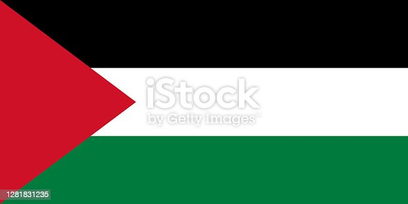 istock Flag of Palestine 1281831235