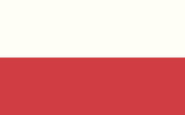 flag of poland - polish flag stock illustrations, clip art, cartoons, & icons