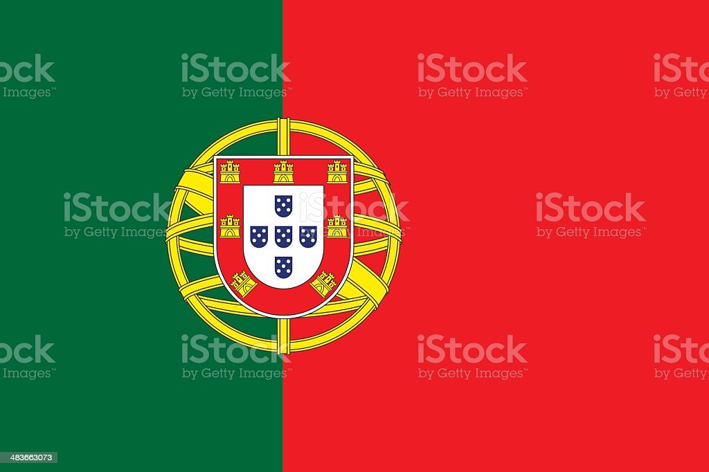 Pavilhão de Portugal - ilustração de arte vetorial