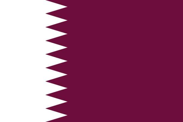 ilustraciones, imágenes clip art, dibujos animados e iconos de stock de bandera de qatar  - qatar
