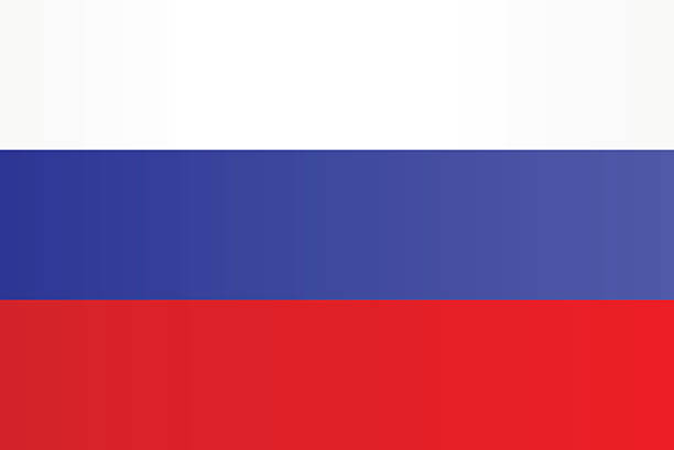 flag of russia - russian flag stock illustrations, clip art, cartoons, & icons