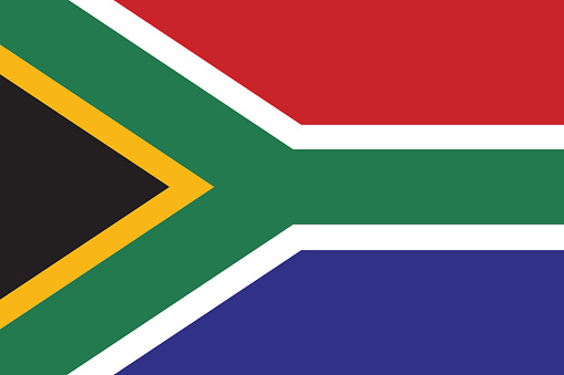 Proportion 2:3, Flag of South Africa