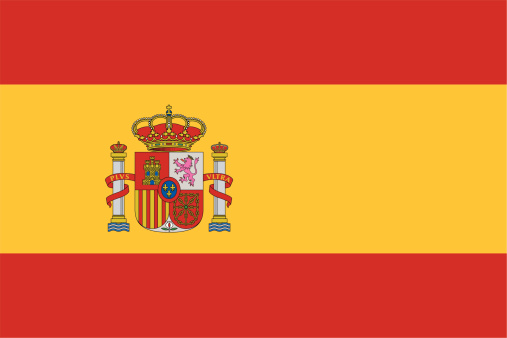 Flag of Spain icon with no background