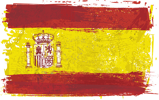 Flag of Spain on Wall