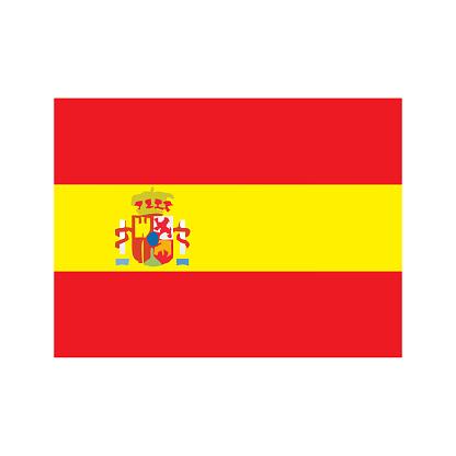 Spaniens Flagga Vektorgrafik Och Fler Bilder Pa Abstrakt Istock