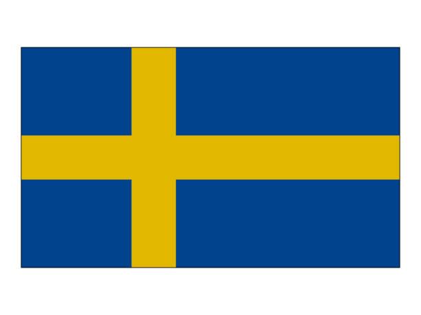 Flagge von Schweden  – Vektorgrafik