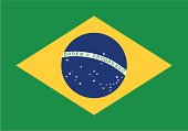 istock Flag of the Brazil 176430982