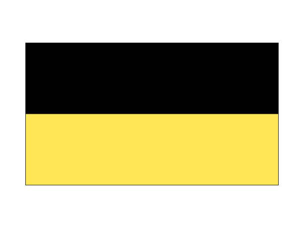 flagge des landes baden-württemberg - kanzlerin stock-grafiken, -clipart, -cartoons und -symbole