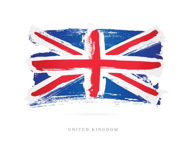 Flagge von Großbritannien – Vektorgrafik