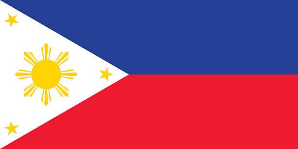 stockillustraties, clipart, cartoons en iconen met flag of the philippines - filipijnen