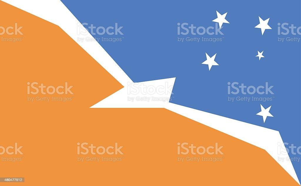 Flag of the Tierra del Fuego, Argentina