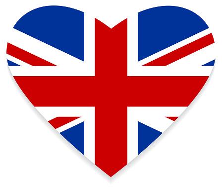 Flag of the United Kingdom / Heart & love