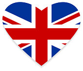 Flag of the United Kingdom / Heart & love