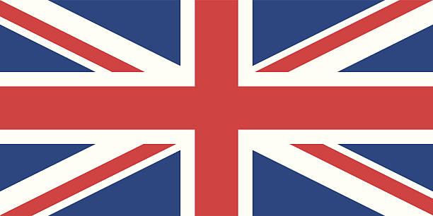 英国の旗 - ユニオンジャックの国旗点のイラスト素材/クリップアート素材/マンガ素材/アイコン素材
