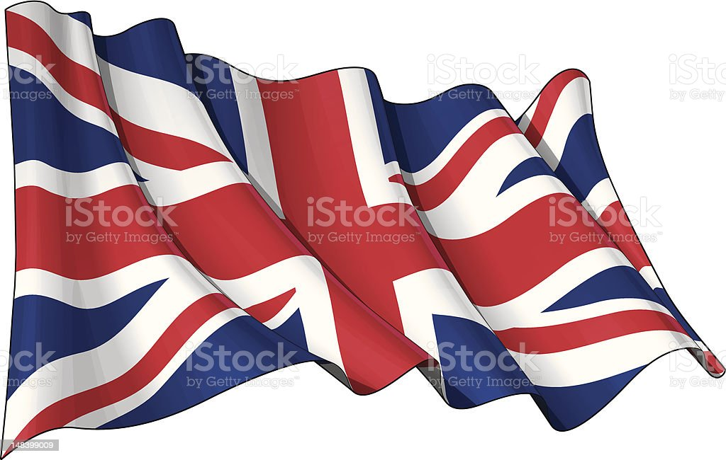 Flag of UK royalty-free flag of uk stock vector art & more images of blue