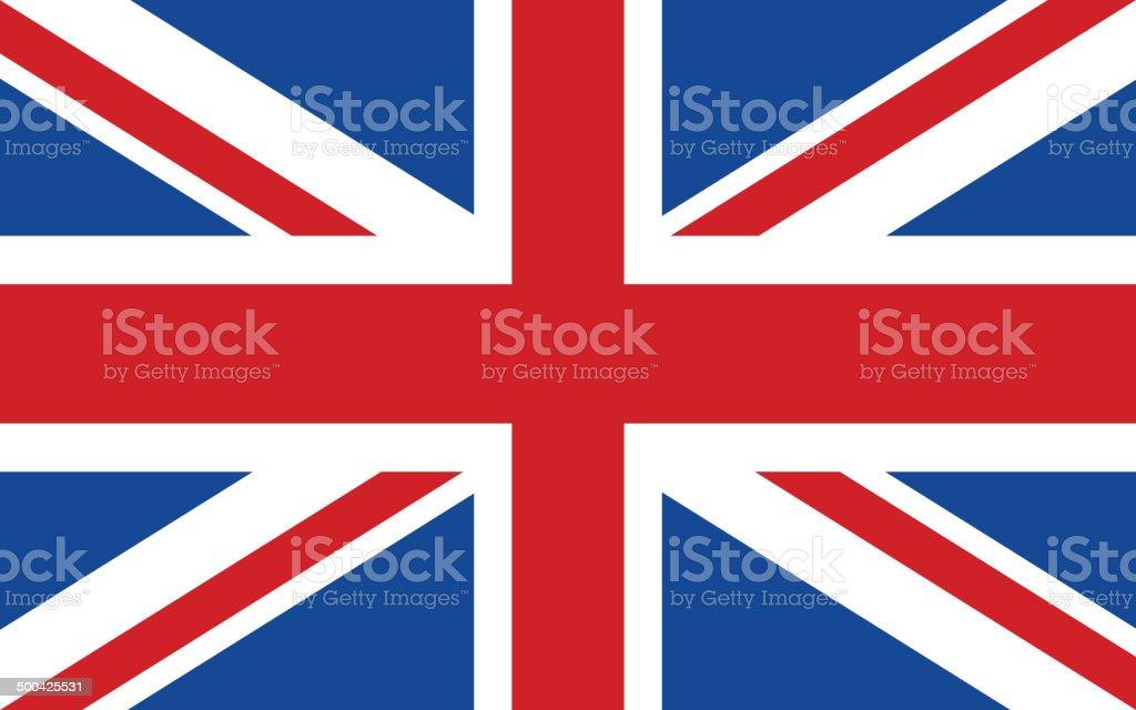 Flag of United Kingdom royalty-free flag of united kingdom stock illustration - download image now