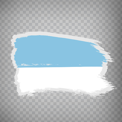 Flag of Valle del Cauca brush strokes. Flag Valle del Cauca capital of Colombia on transparent background for your web site design, app, UI.  EPS10.