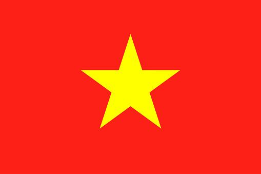 越南國旗全國越南旗子 向量例證向量圖形及更多世界地圖圖片