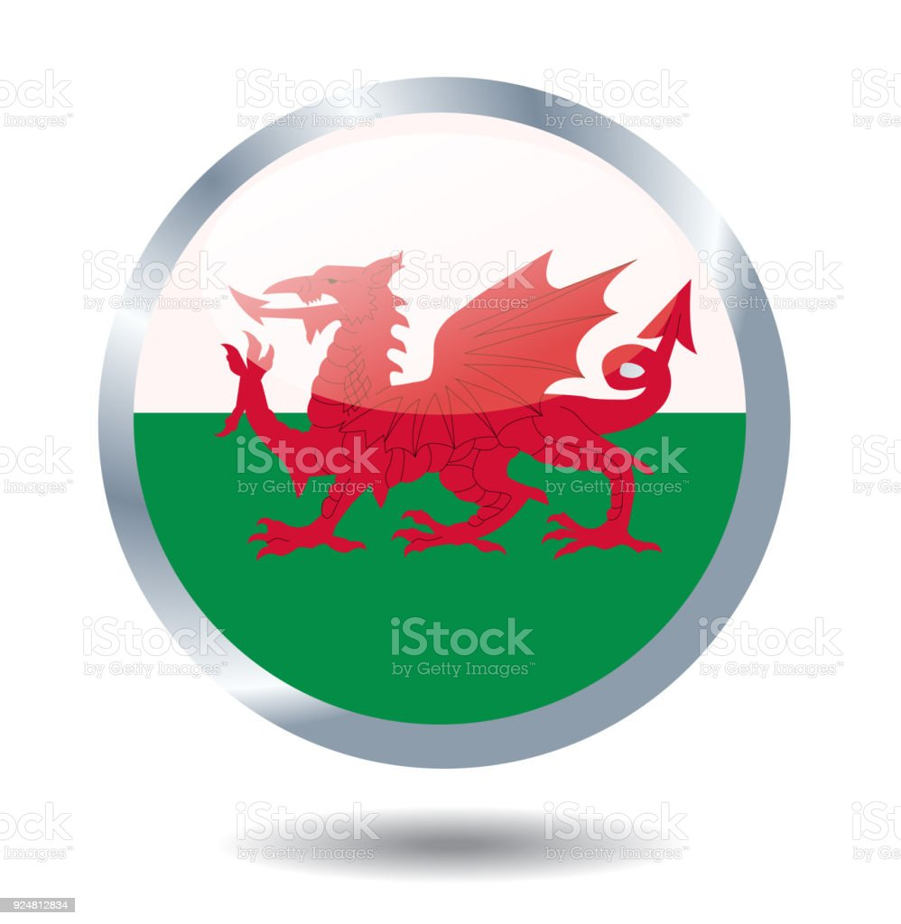 Bandera De Gales Vector Ilustración - Arte vectorial de stock y más ...