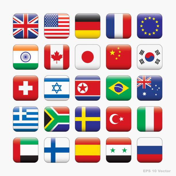 世界では、ベクトルのアイコンのフラグ - ロシアの国旗点のイラスト素材/クリップアート素材/マンガ素材/アイコン素材