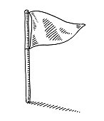 Flag Symbol Drawing