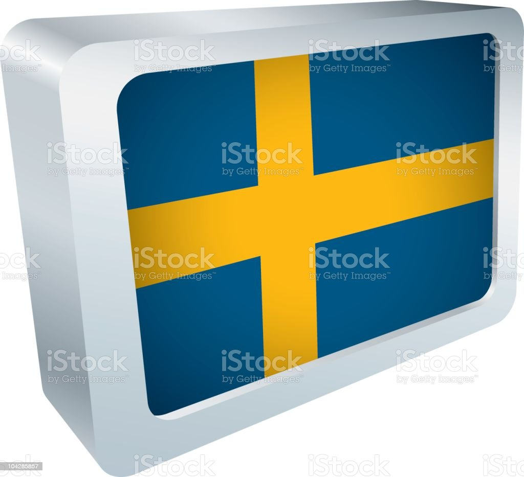 Flag Tile - Sweden royalty-free flag tile sweden stock vector art & more images of blue