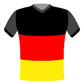 Flag t-shirt of Germany