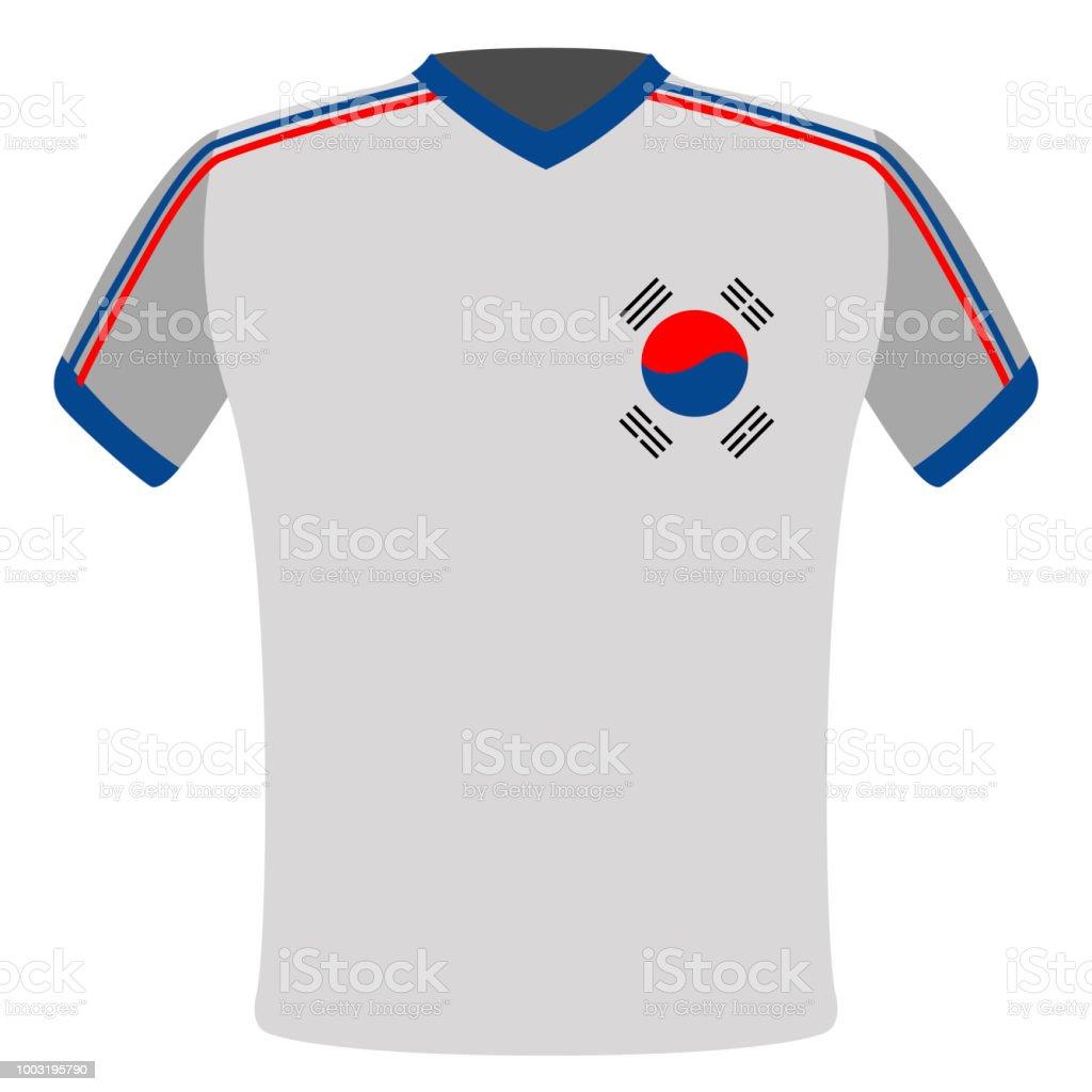 2b3f4ff80 Flag t-shirt of South Korea royalty-free flag tshirt of south korea stock