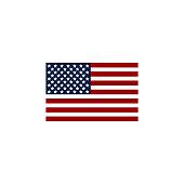 Flag USA icon. American symbol. Flag usa. Flag usa isolated on white background. Eps10