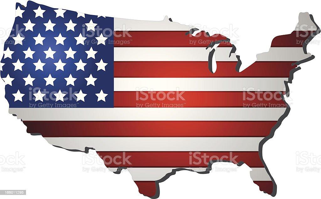Flag USA royalty-free flag usa stock vector art & more images of abstract